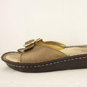 ALEGRIA MIL Slides Sandals Leather Shoes